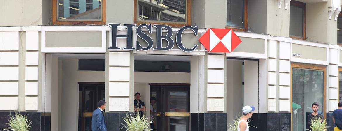HSBC Bank in Brazil sending money