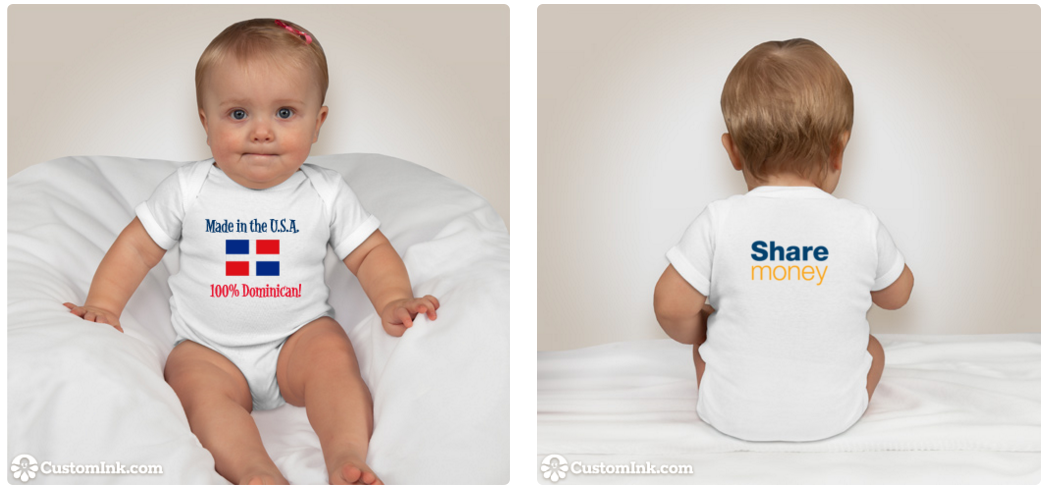 Win this adorable onesie for your baby to show off your pride in style!