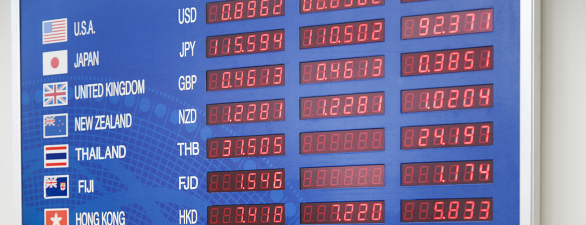 how currency exchange works