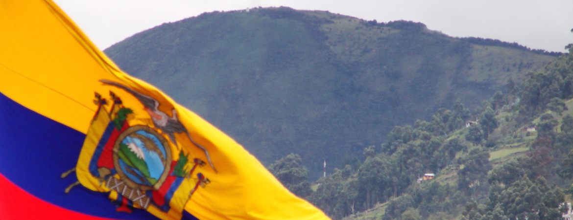Flag photo Ecuador