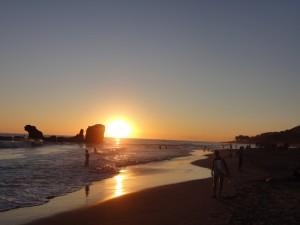 Playa El Tunco El Salvador.