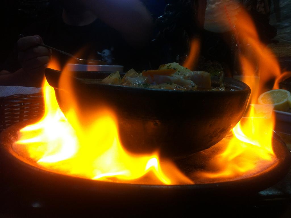 Caldillo de Congrio, Chilean soup