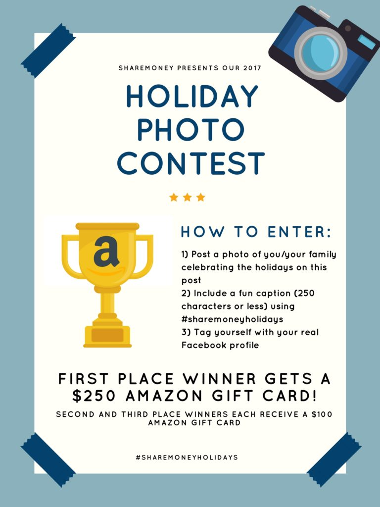 Sharemoney Holiday Photo Contest